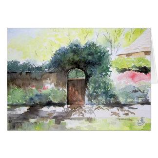 Una puerta - estado de la casa de Englis, Ann Tarjeta De Felicitación