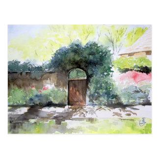 Una puerta - estado de la casa de Englis, Ann Tarjeta Postal