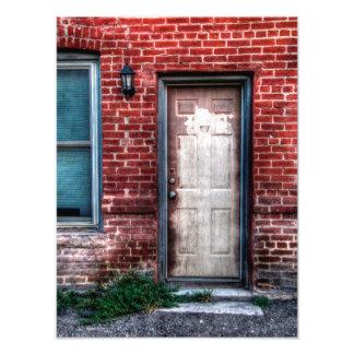 "Una puerta vieja 12"" x 16"" fotografías"