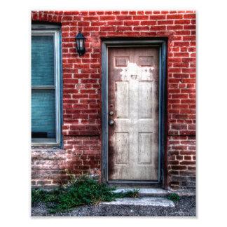 "Una puerta vieja 8"" x 10"" fotografías"