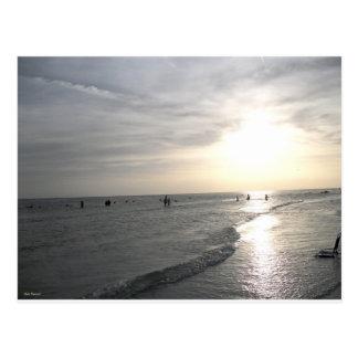 Una puesta del sol de la siesta postales