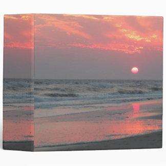 Una puesta del sol perfecta - isla del roble NC