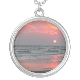 Una puesta del sol perfecta - isla del roble NC Joyeria