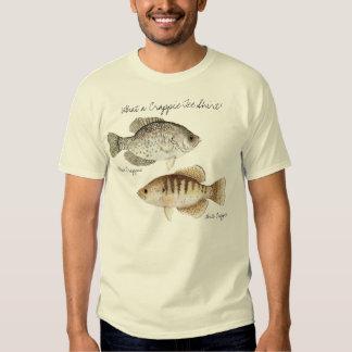 ¡Una qué camiseta del tipo de pez! Playera