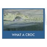 Una qué tarjeta de Croc
