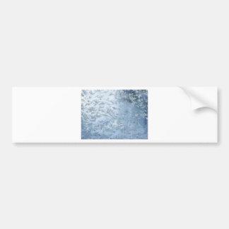 Una ráfaga de las flores de Frost Pegatina Para Auto