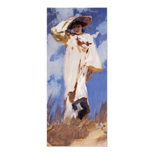 Una ráfaga del viento de John Singer Sargent Invitaciones Personalizada