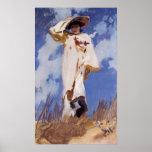 Una ráfaga del viento de John Singer Sargent Impresiones