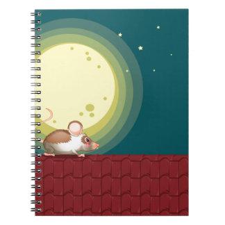 Una rata en el tejado libro de apuntes con espiral
