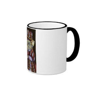 Una rata muy respetable taza de dos colores