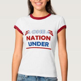 Una raya de la nación remeras