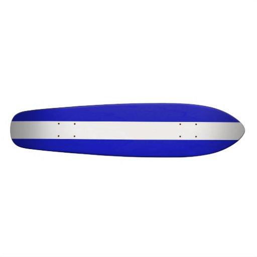 Una raya Longboard Monopatin