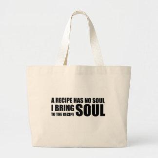 Una receta no tiene ninguna alma. Traigo alma a la Bolsa