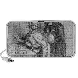Una representación de Titus Oates iPhone Altavoces