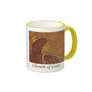 Una respiración del oro taza de dos colores