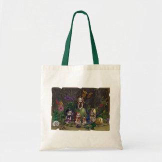 Una reunión del bolso de hadas gótico del arte de  bolsas lienzo
