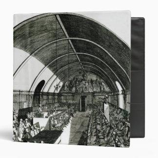 """Una reunión del club de Jacobin, 1791 Carpeta 1 1/2"""""""