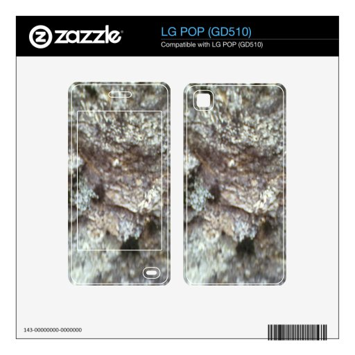 Una roca skins para LG POP