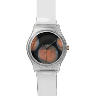 Una rotación completa de Marte Relojes De Pulsera