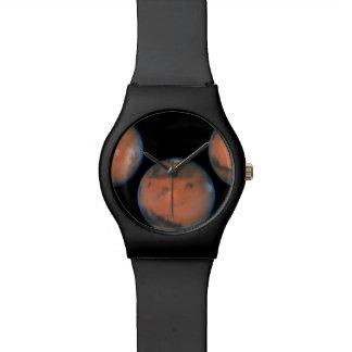 Una rotación completa de Marte Reloj
