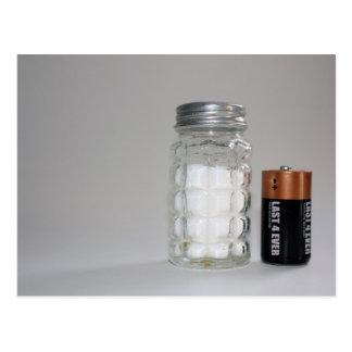Una sal y una batería