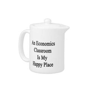Una sala de clase de la economía es mi lugar feliz