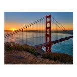 Una salida del sol absolutamente imponente tarjetas postales
