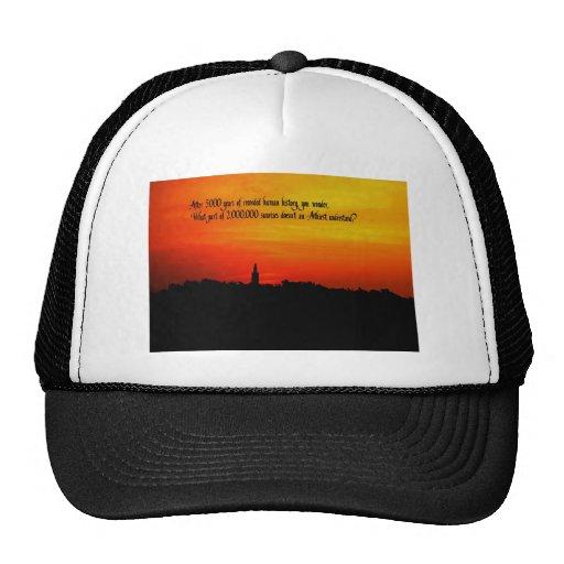 Una salida del sol hermosa gorra