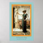 Una señora de Pompeian Impresiones