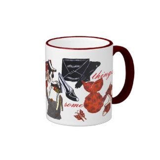 ¡una señora necesita cosas taza de café