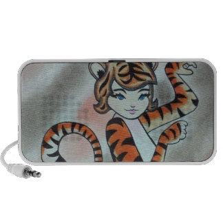 Una señora salvaje Tiger Original iPod Altavoces