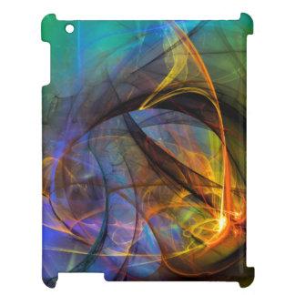 Una sensación caliente - arte abstracto digital