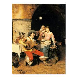 Una serenata - andreotti postal