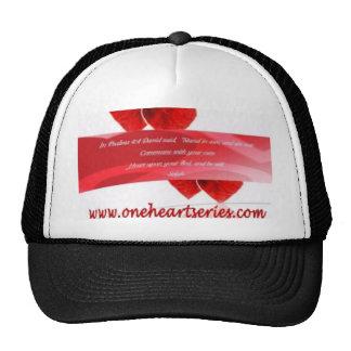 Una serie del corazón (r) gorras de camionero
