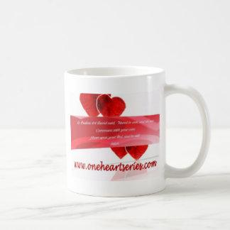 Una serie del corazón (r) taza