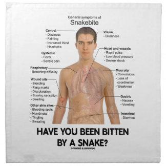 ¿Una serpiente le ha mordido? (Mordedura de la Servilletas De Papel