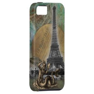 Una sirena en caso del iPhone 5 de París iPhone 5 Cobertura