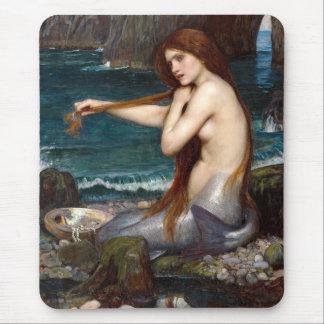 Una sirena, Waterhouse Alfombrillas De Ratón