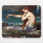 Una sirena, Waterhouse Tapetes De Raton