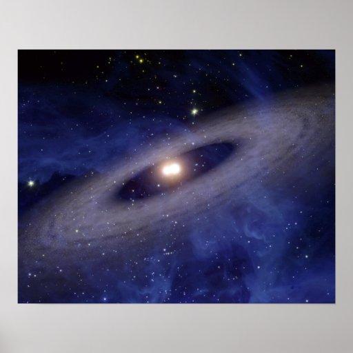 Una Sistema Solar lejana Poster