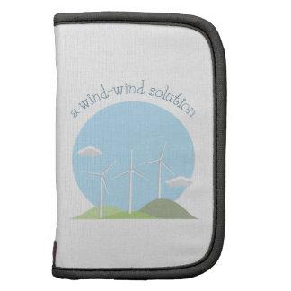 Una solución del Viento-viento Organizadores