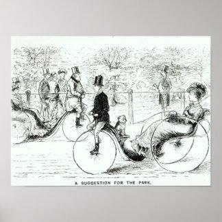 Una sugerencia para el Park', 1879 Póster
