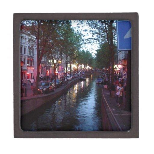 Una tarde en Amsterdam Caja De Regalo De Calidad