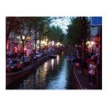 Una tarde en Amsterdam Tarjeta Postal