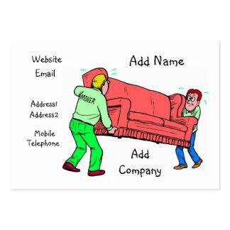 Una tarjeta adaptable del negocio/del perfil del tarjetas de visita grandes