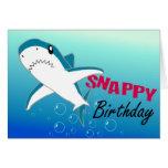 Una tarjeta colorida del feliz cumpleaños de la di