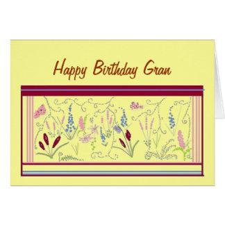 Una tarjeta de cumpleaños bonita para Gran