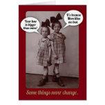 Una tarjeta de cumpleaños más vieja de la hermana