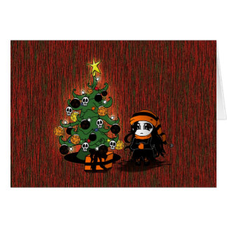 """""""Una tarjeta de Navidad sola"""