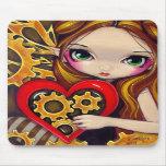 """Una tarjeta del día de San Valentín"" Mousepad del Alfombrilla De Ratones"